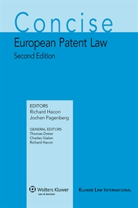 Concise European Patent Law