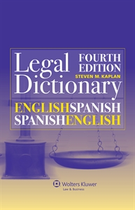 English-Spanish and Spanish-English Legal Dictionary