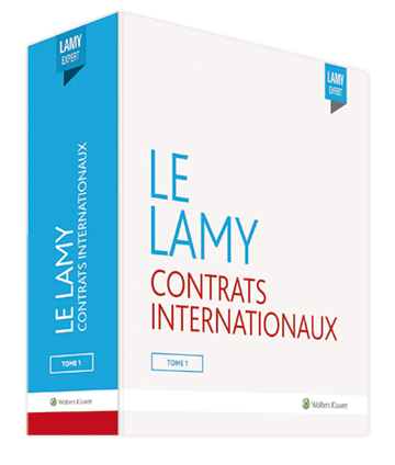 Le Lamy contrats internationaux