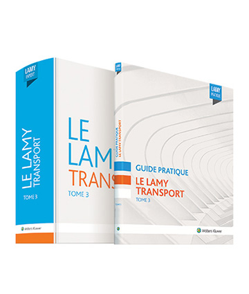 Le Lamy transport - tome 3