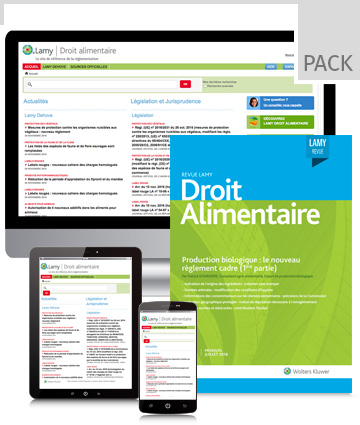 Pack Droit Agro-alimentaire-online
