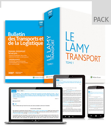 Pack droit du transport par route