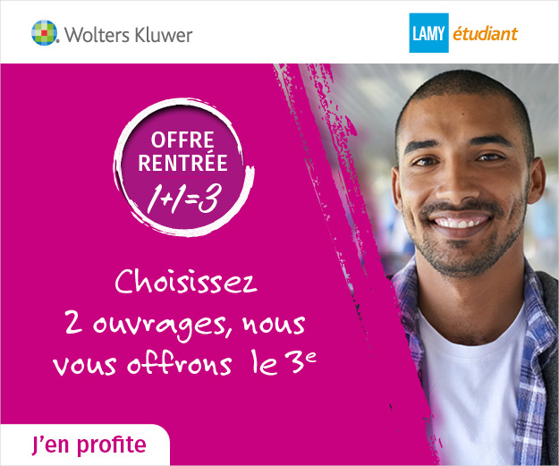 OFFRE RENTREE 1+1=3