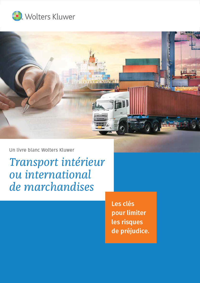 Livre blanc - Transport interieur ou international de marchandises